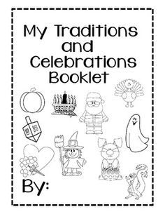 my family celebrates worksheet - Google Search
