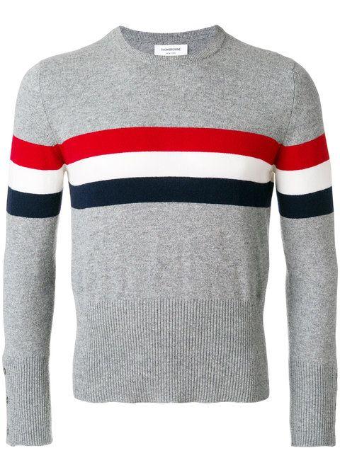 60b4bfde53 THOM BROWNE Thom Browne x Colette cashmere jumper. #thombrowne #cloth #