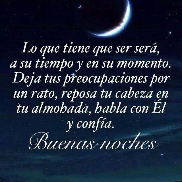 Buenas noches. :)