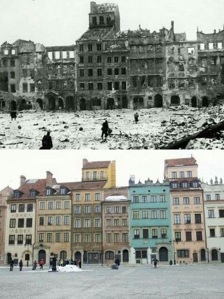 Warsaw-Poland 1945 2016