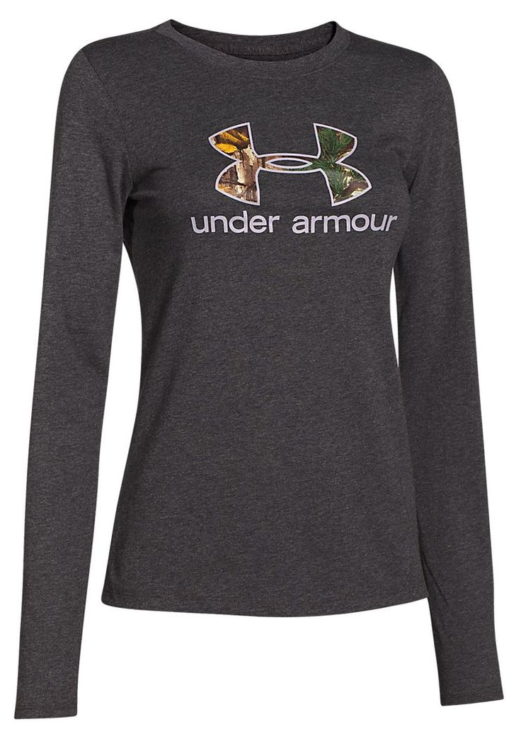 Under Armour Camo Logo T-Shirt for Ladies | Bass Pro Shops