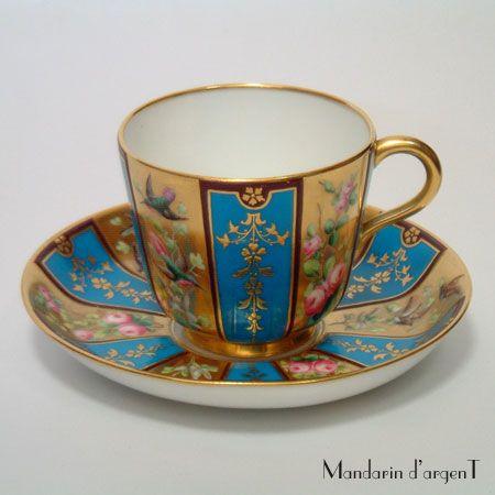 Minton 1873 Cup & Saucer
