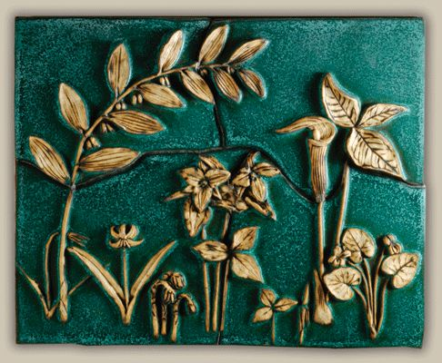 Weaver Tile: Makers of handmade tiles featuring flora, fauna & children motifs. American Made. 2013 Buyers Market of American Craft. americanmadeshow.com
