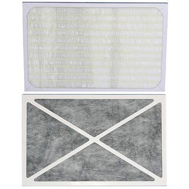 Hepa Air Filter for Magic Clean Air Cleaner AC1220 (Hepa replacement Air Filter for Model: AC-1220), Black carbon