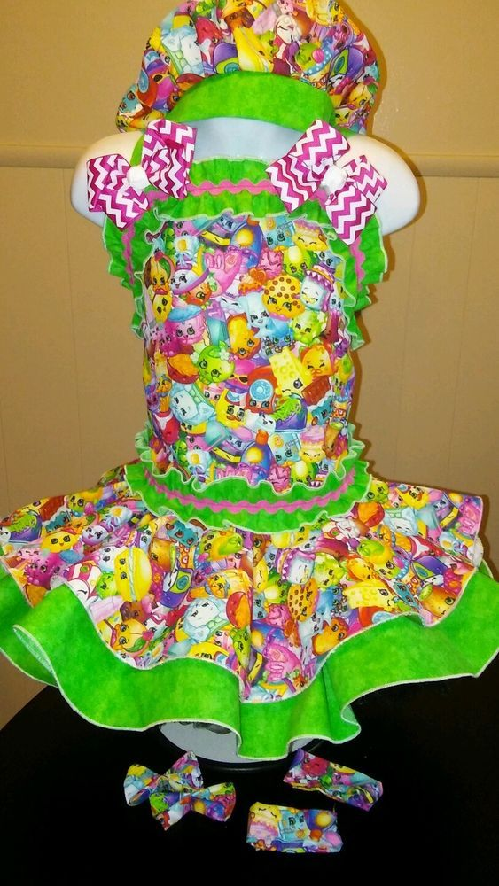 National Pageant Casual Wear OOC. Boutique Shopkins  3-5t #Handmade #DressyEverydayHoliday
