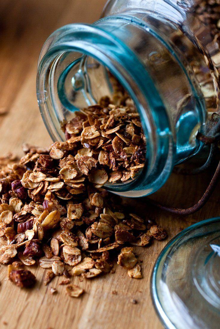 Flax And Mixed Grains Granola Recipe Nyt Cooking Granola Granola Recipes Cooking Dried Beans