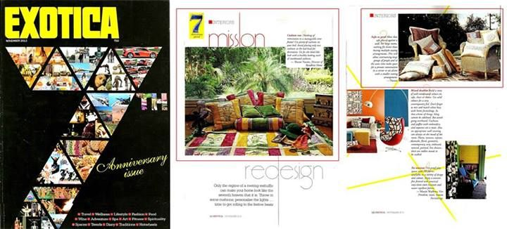Exotica Magazine, The Pioneer- Nov'13