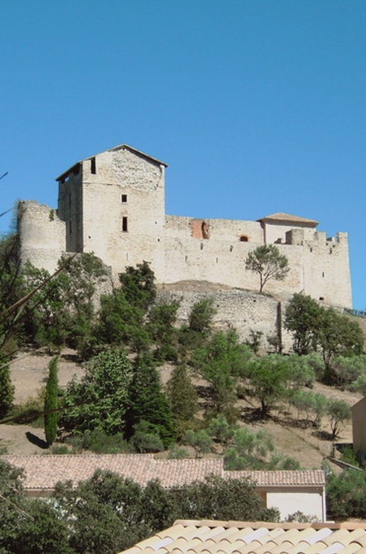 Le château des Templiers à Gréoux-les-Bains, Alpes-de-Haute-Provence © Philippe Collaert, Galerie Linternaute.com