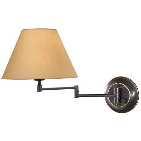holtkoetter oil rubbed bronze brass kupfer swing arm lamp style k0668