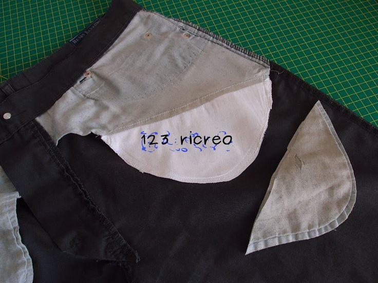 La #tasca bucata - come si rammenda video su Youtube canale 123ricreo