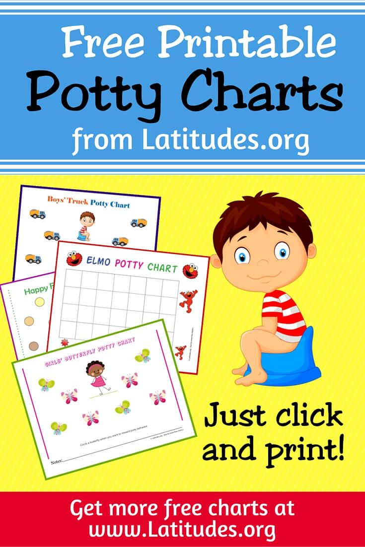 potty training chart etsy