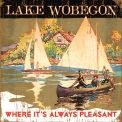Lake Wobegon Wood Art Wall Sign