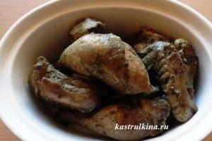 """Жареный цыпленок """"Синяя птица"""" - очень вкусное и оригинальное блюдо кавказской кухни"""