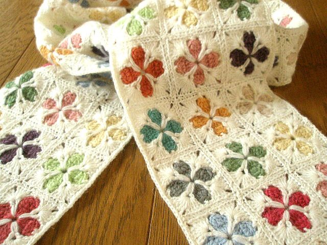 Cathedral Motif Granny Square - free crochet diagram and assembling lay-out! Lovely!
