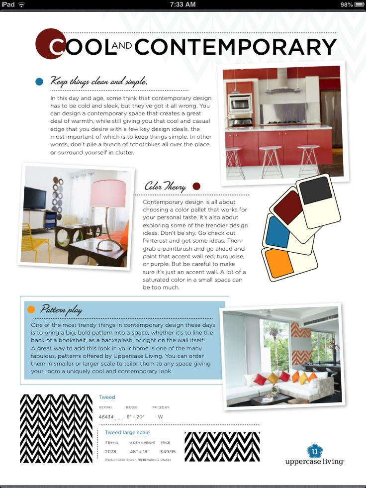 Add punch to a empty wall using our vinyl patterns.