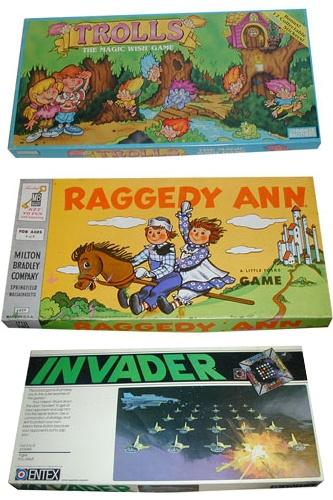 vintage board games!