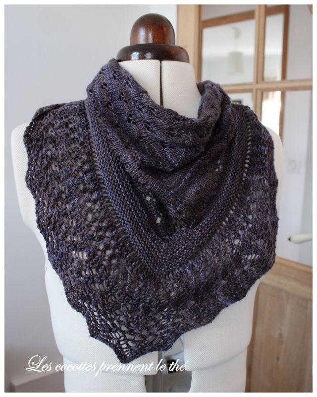 chales a tricoter