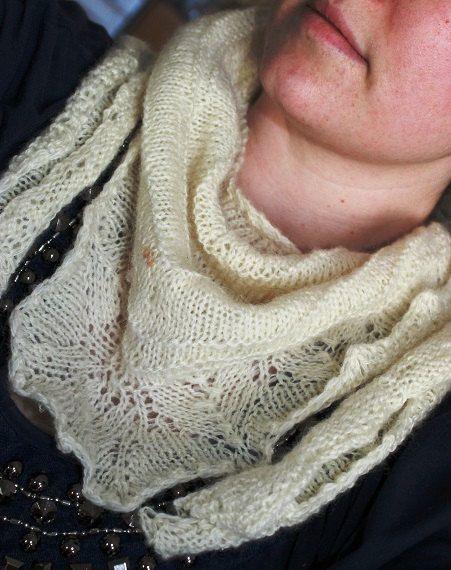 Knit scarf, hand knit, Hand spun lambs wool, fasion scarf, white wool scarf, Hand spun yarn