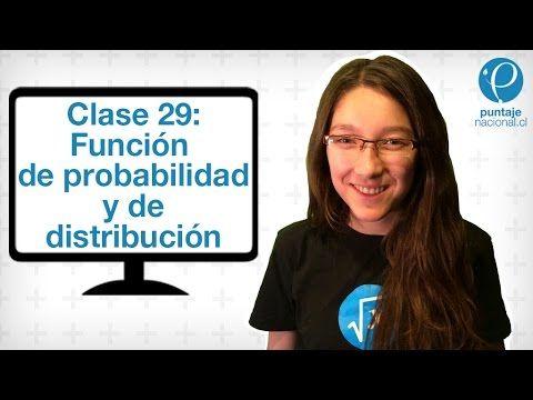 Clase 29 Matemática 2014: Función de probabilidad y de distribución - YouTube