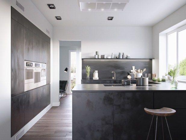 siyah-mutfak