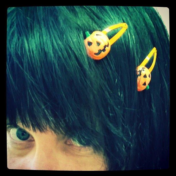 #Samhain #kurpitsa  #Halloween #harvest  #kekri #köyri #pumpkin #hiussoljet #hairpins #orangeisnewblack