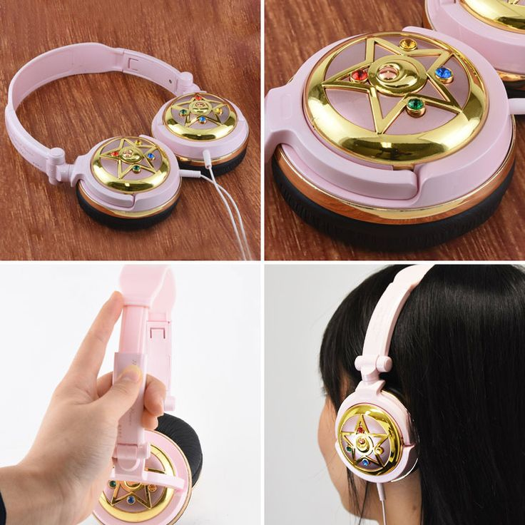 sailor moon prism & crystal star headphones.