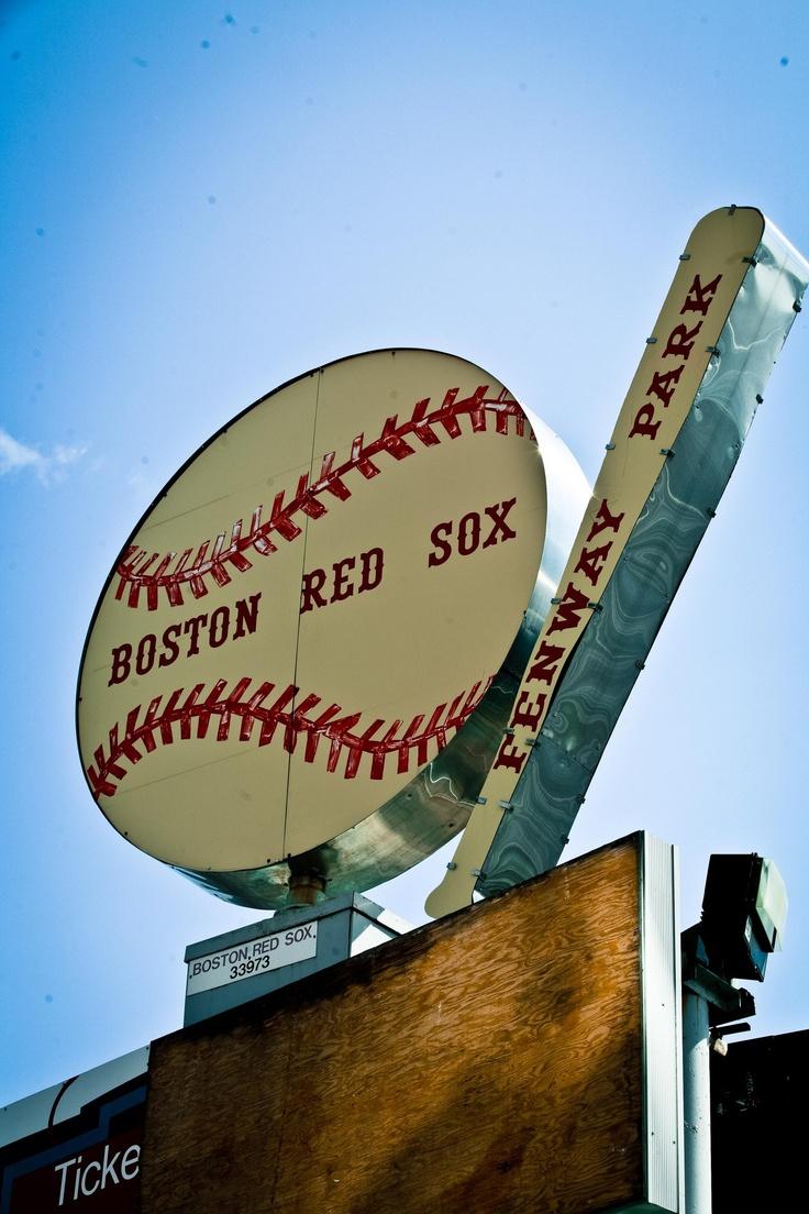 Vintage Red Sox Sign