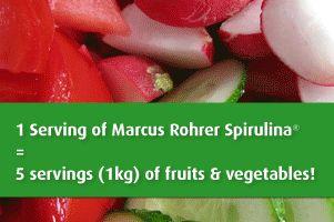 Nutritious Marcus Rohrer Spirulina