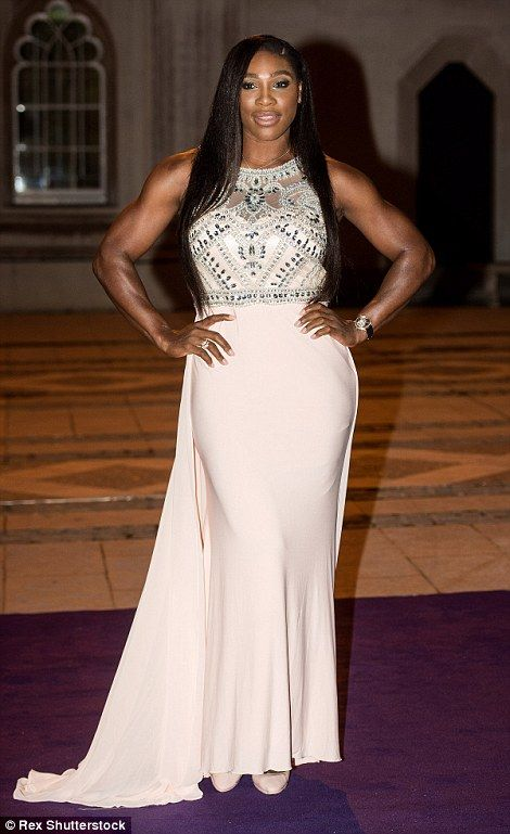 THIS GIRL'S TRUELY A WINNER !!! Serena Williams proved her body-shaming critics wrong tonight as she stepped out alongside Novak Djokovic to show off her enviable figure at the Wimbledon Champions' Dinner