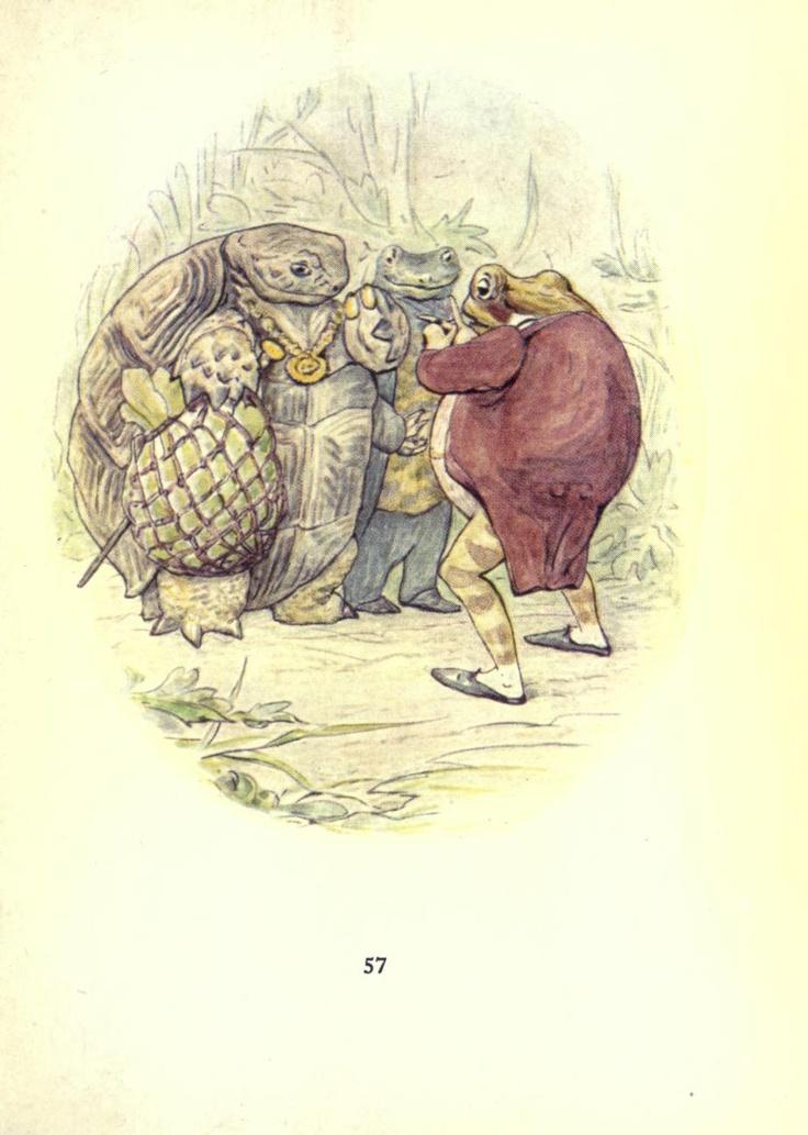 Beatrix Potter ~ The tale of Mr. Jeremy Fisher