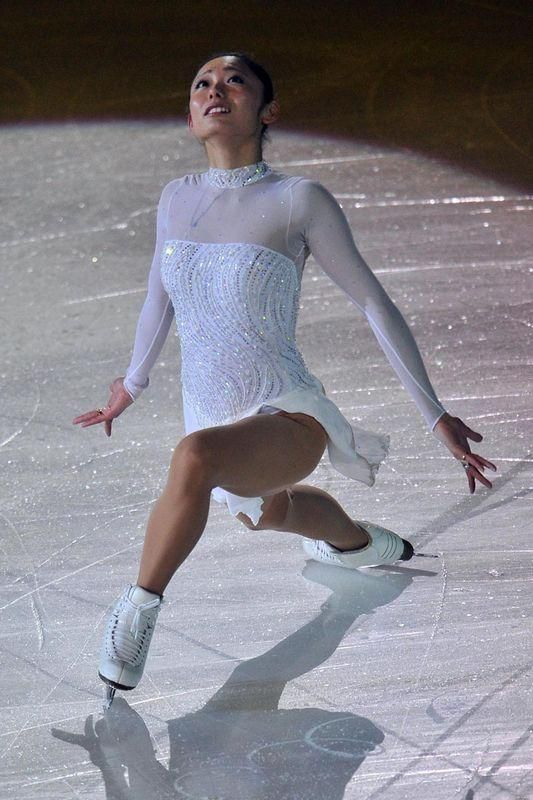 Solid White Custom Made Ice Figure Skating Dress For Girls Women Child For Competition Crystal Rhinestones Skirts From Bingdie, $189.46   Dhgate.Com