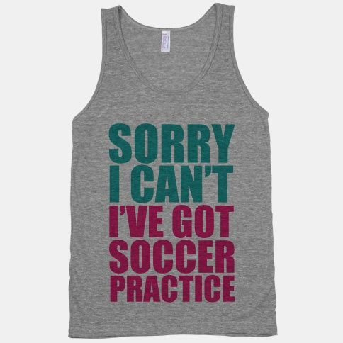 I want this! And more soccer practice so I can actually say this more...