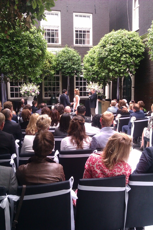 The Dylan 5 Star Hotel Build From Several 7th Century Houses In Amsterdam.  Wedding In