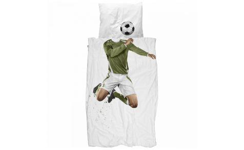 DEKBEDOVERTREK VOETBAL SNURK - Beddengoed, Jongen, Soccer | De Boomhut