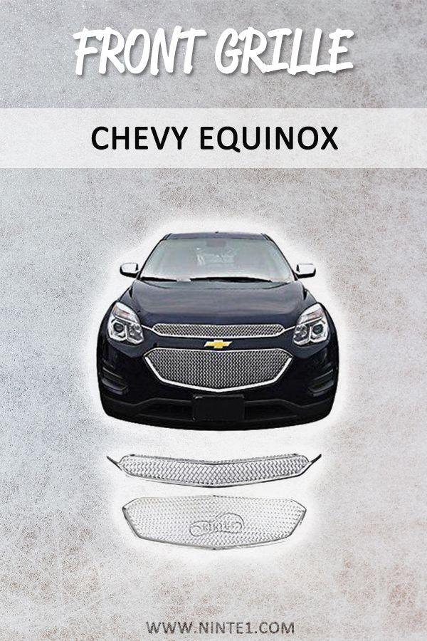 Chrome Front Center Upper Grille Set Cover 2 Bar For 2016 2017 Chevy Equinox In 2020 Chevy Equinox Chevy Grilles
