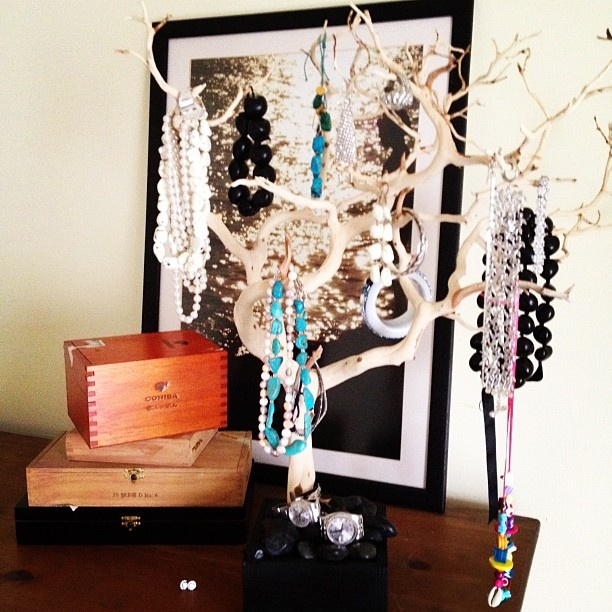 Tree stand: Decor Ideas, Trees Stands, Real Trees, Awesome Ideas, Great Ideas, Jewelry Rack, Baubles Trees