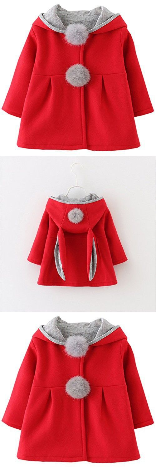 Kids <b>Baby Girls</b> Coat <b>Winter Warm</b> Hoodie Jacket Outerwear | Алиса ...