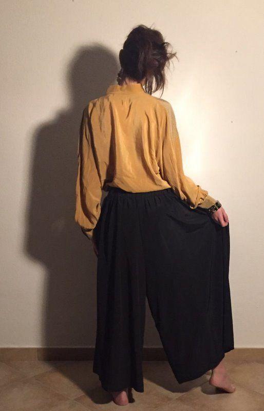 Camicia donna vintage Coqume PURA SETA tg di RebeldeVintageStore