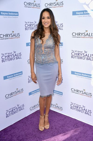 Actor Dania Ramirez attends the 16th Annual Chrysalis Butterfly Ball at Private Residence on June 3, 2017 in Brentwood, California.