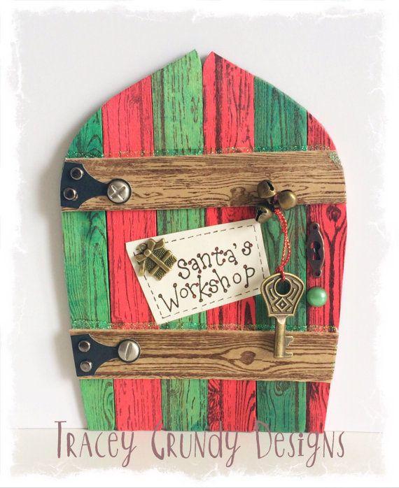 NEW Handcrafted Santa's Workshop Door / Fae от TraceyGrundyDesigns
