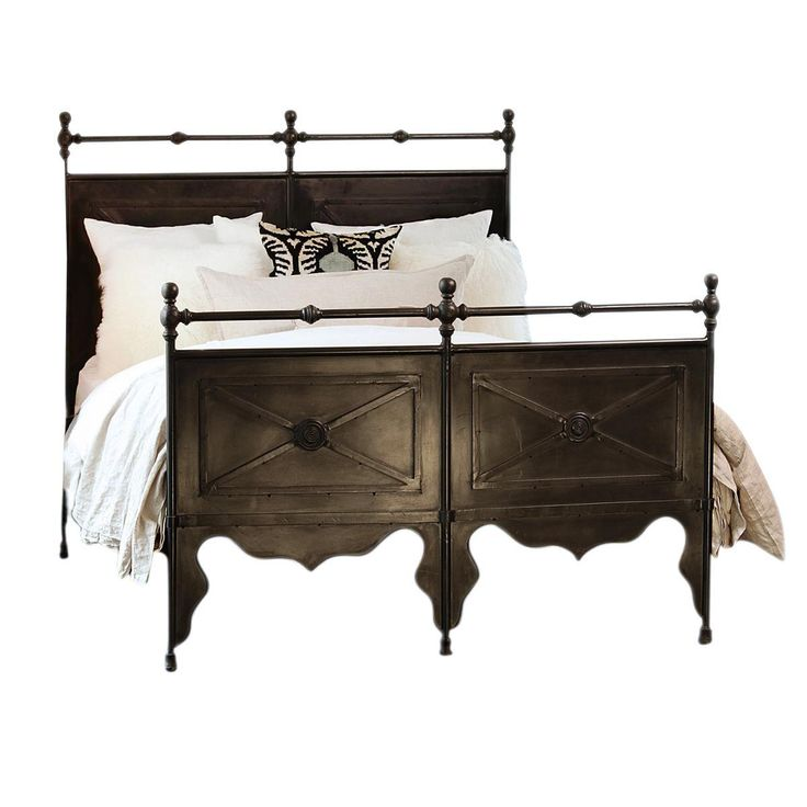 Cast Iron Queen Bed Frame - Image 1 of 2