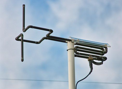 a 2 meter antenna made of copper tubes offering circular polarization. This resource is listed under Antennas/2M