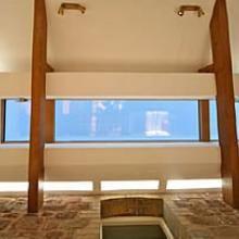 Lumen brightens a garden room with Planus Steel skylights