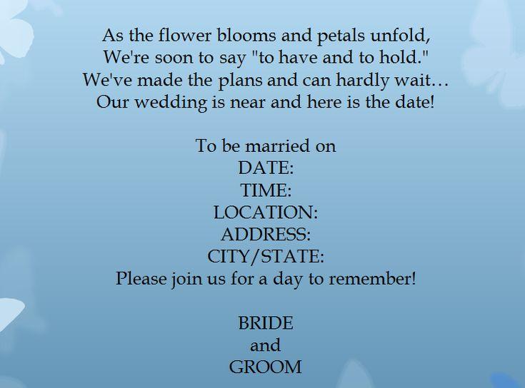 Informal Wedding Reception Invitations Wording: Top 25+ Best Casual Wedding Invitation Wording Ideas On