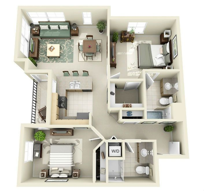 How Much Is Rent For A 2 Bedroom Apartment Model Plans Fascinating 38 Best Model Images On Pinterest  Architecture Plan Small . Review