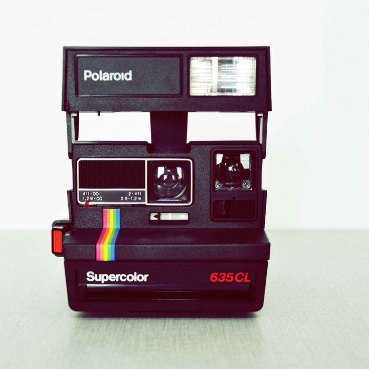 polaroid supercolor 635 cl vintage design furniture pinterest. Black Bedroom Furniture Sets. Home Design Ideas