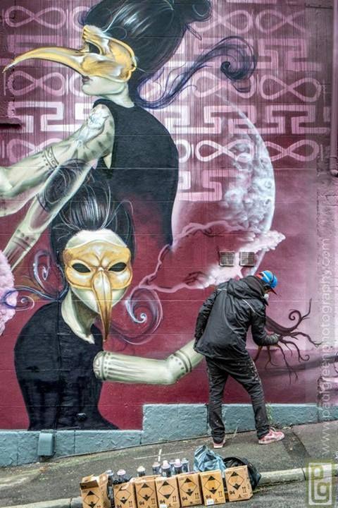 Street Artist: Sokar Uno