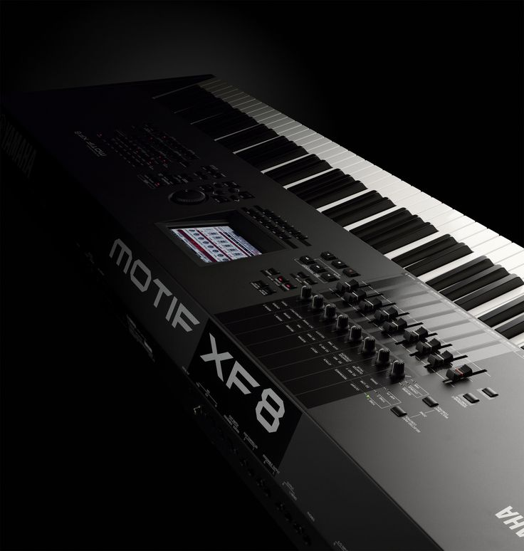 17 best images about music on pinterest your brain keys for Yamaha motif xf8 88 key music production synthesizer