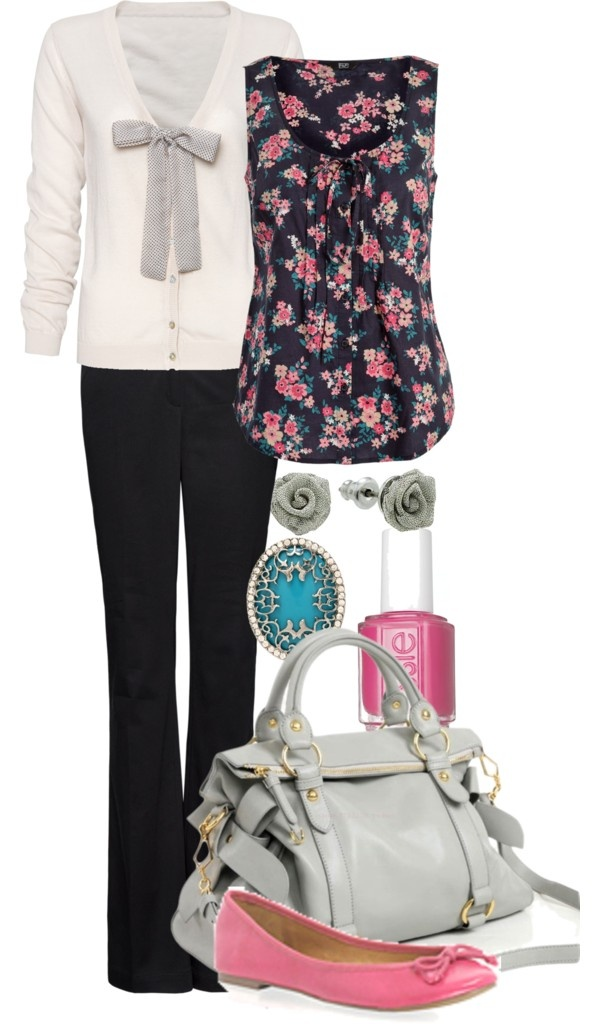 """Teacher Outfits on a Teacher's Budget"" by allij28 on Polyvore  i love the shirt"