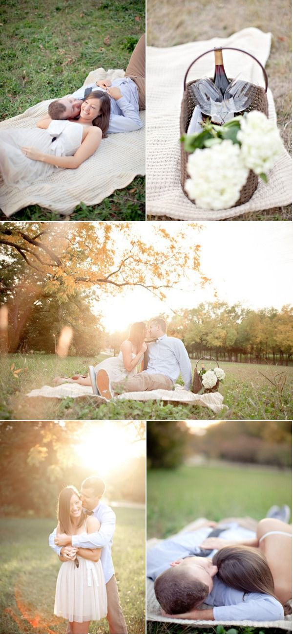 McKinney Countryside Engagement Session by Ivy Weddings